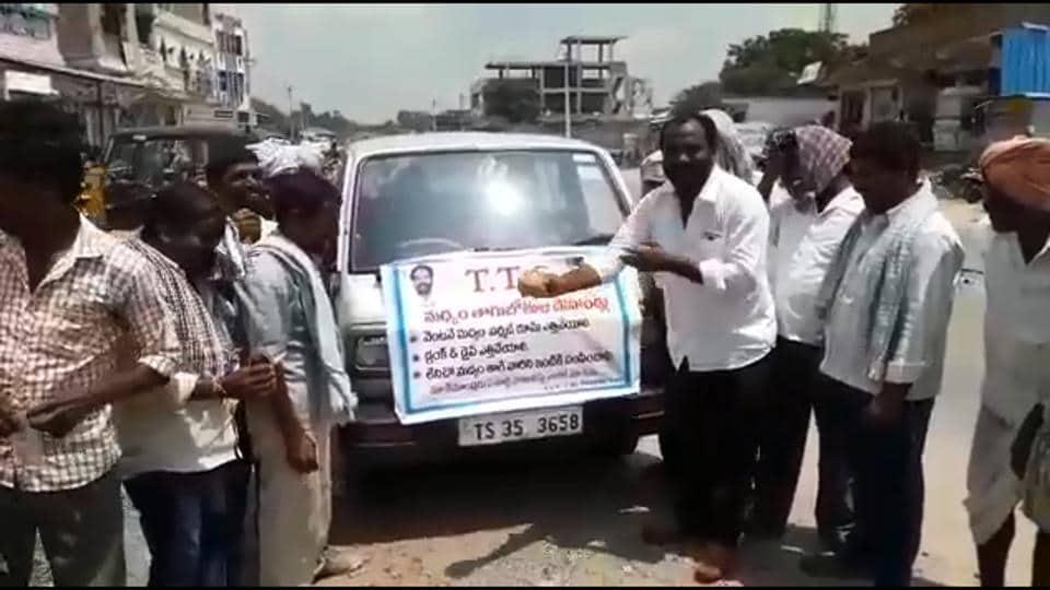 drunken driving,Telangana,Ambulance service