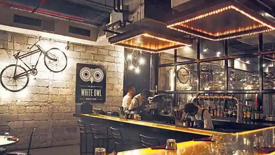 The White Owl at One Indiabulls Centre, Lower Parel.