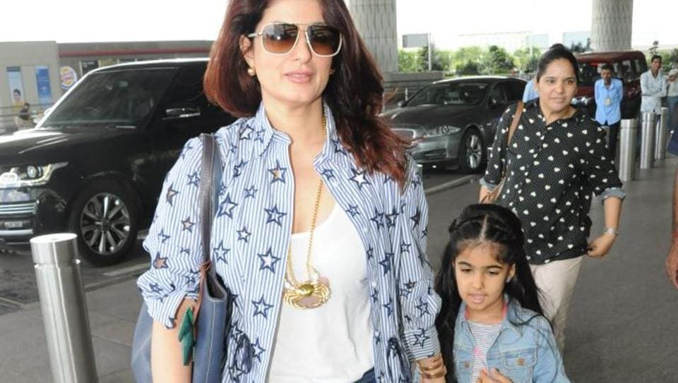 Image result for twinkle khanna daughter pic