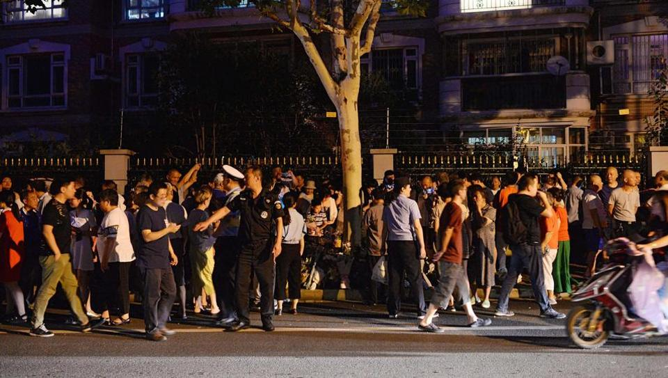Knife attacks by disgruntled people in public places and schools to highlight their grievances periodically occur in China.