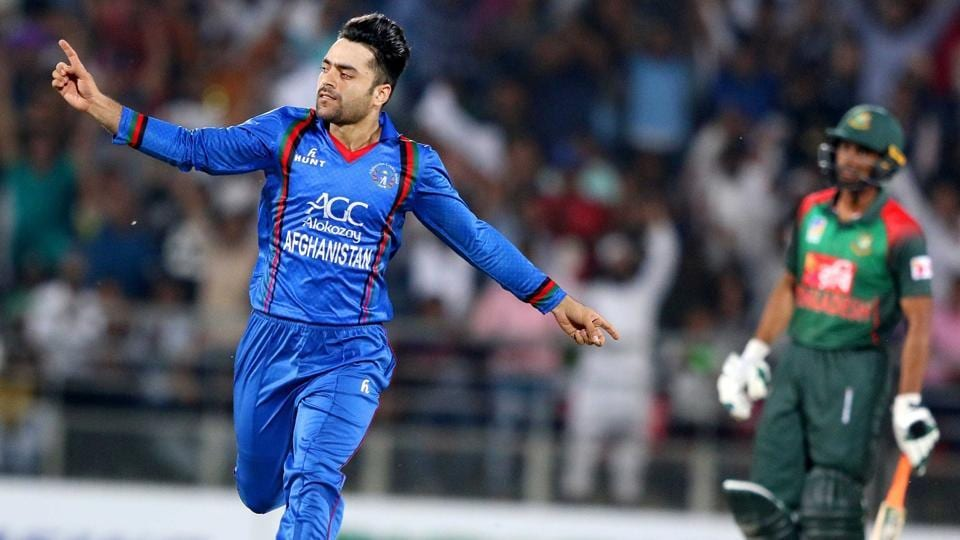 Rashid Khan averages 12.07 with ball in ODIs in the UAE (Photo - getty)