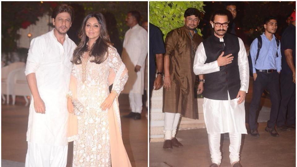 Ganesh Chaturthi 2018,Ambani Ganesh Chaturthi,Shah Rukh Khan
