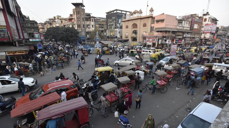 Delhi govt,pedestrian,Chandni Chowk