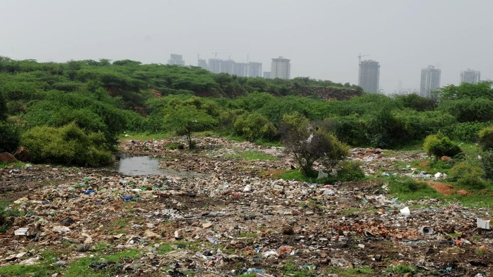 Aravalli,foothill,groundwater recharge