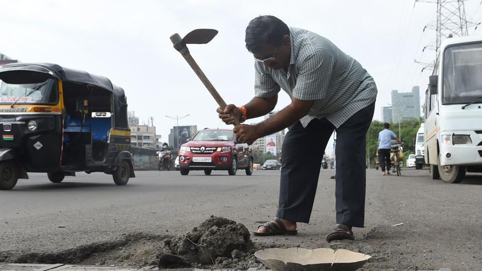 This man filled in 600 potholes across Mumbai in 3 yrs to deal with son's death | india news