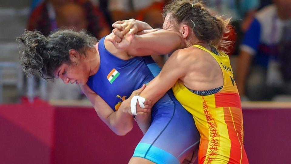 Sakshi Malik,Pooja Dhanda,Wrestling