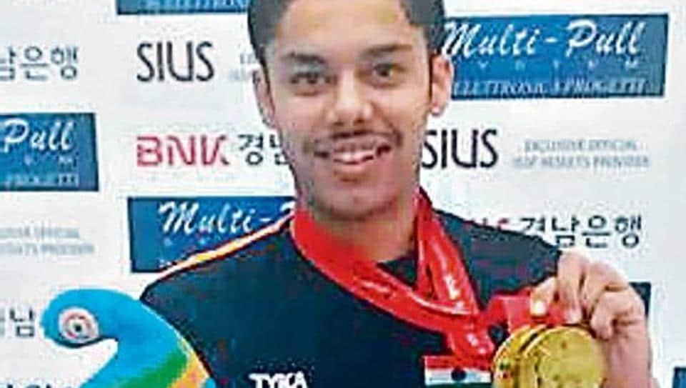 Vijayveer Sidhu, 16, is now the junior world champion in 25m standard pistol event.