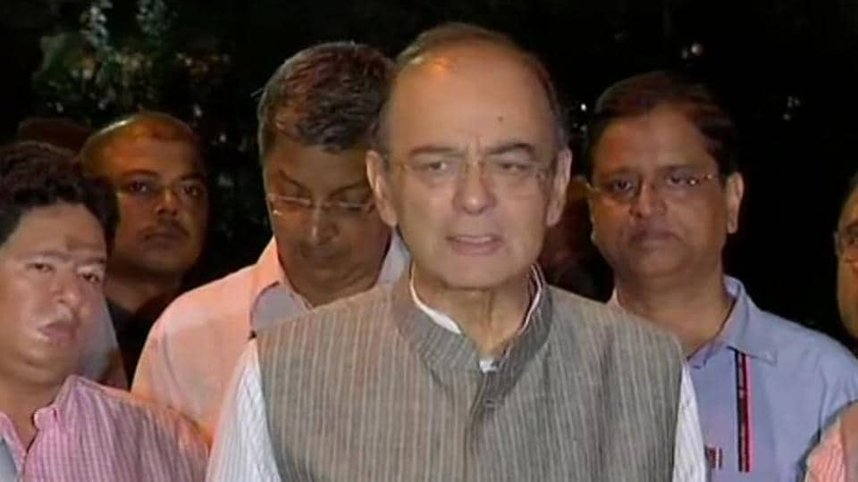 Arun Jaitley says confident of meeting fiscal deficit target