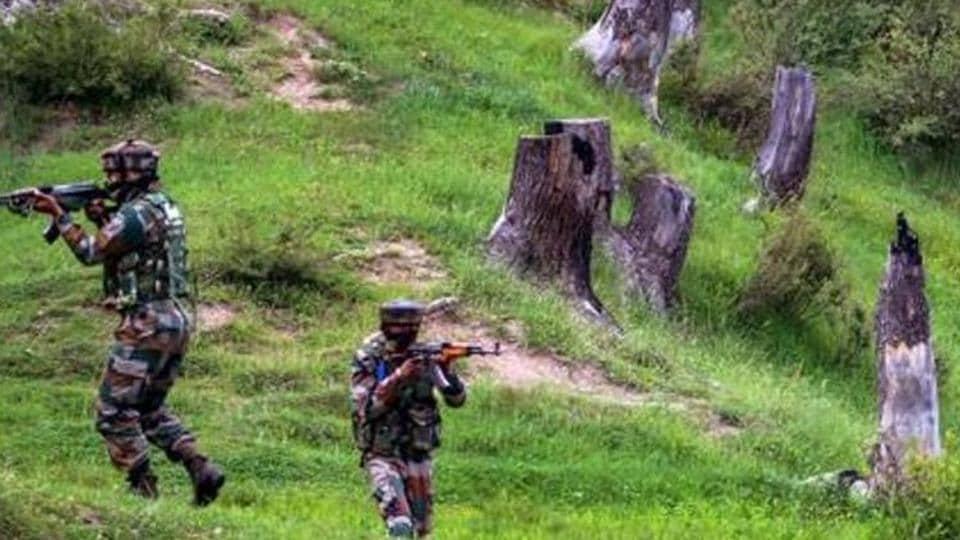Jammu and Kashmir encounter,terrorist attack,gunfight