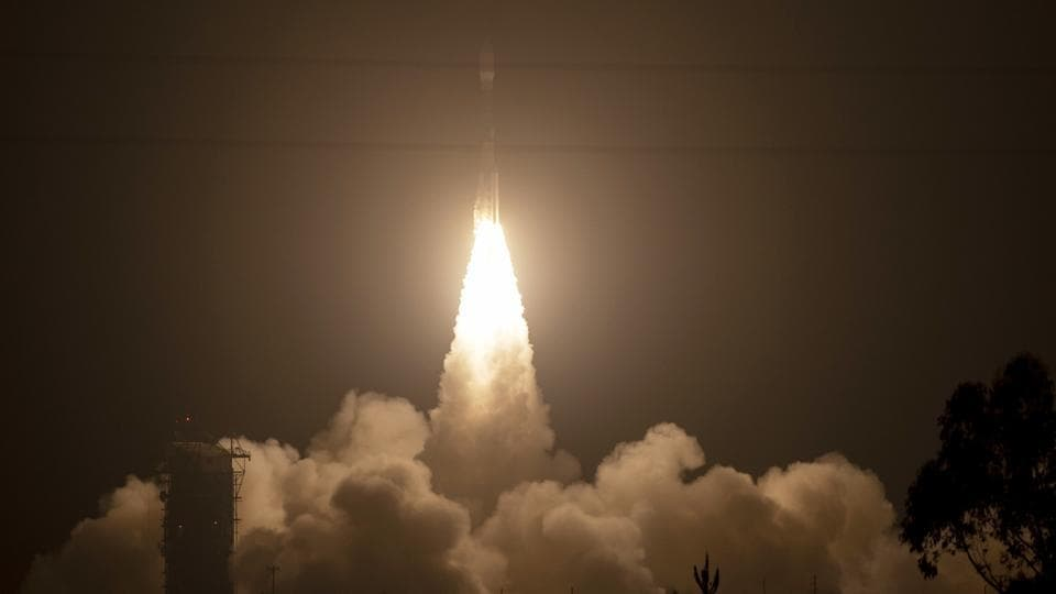 Nasa blasts off space laser satellite that will track loss ...