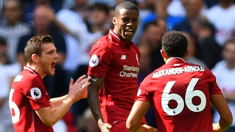 Liverpool FC,Tottenham Hotspur,Premier League