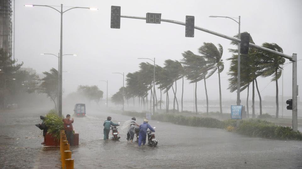 Philippines typhoon,Typhoon Mangkhut,Philippines