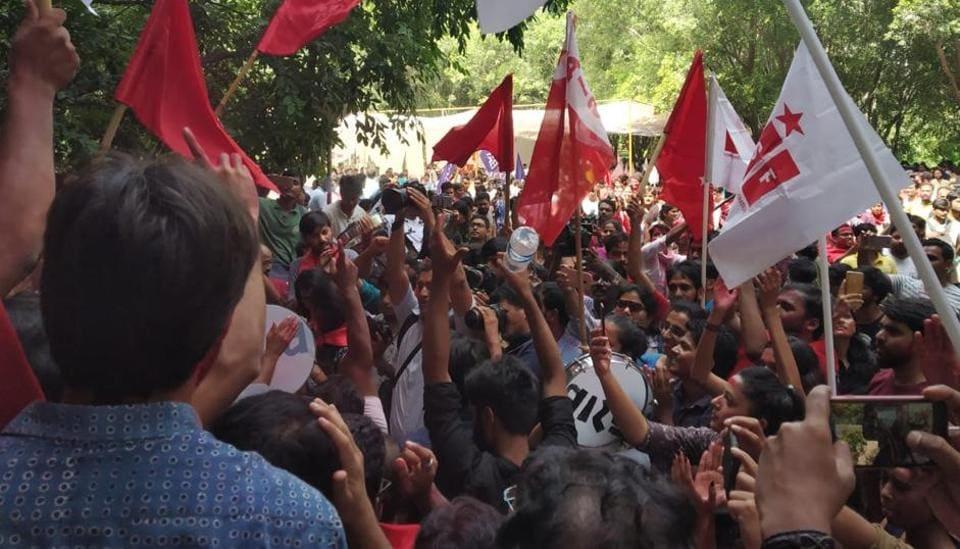 JNUSU Election results,JNUSU elections 2018,BAPSA