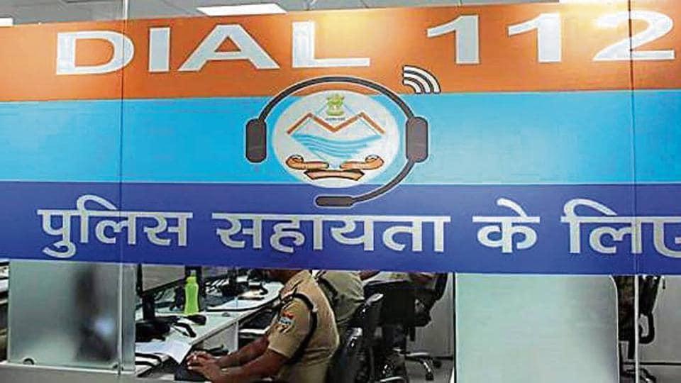 The police helpline in Dehradun.