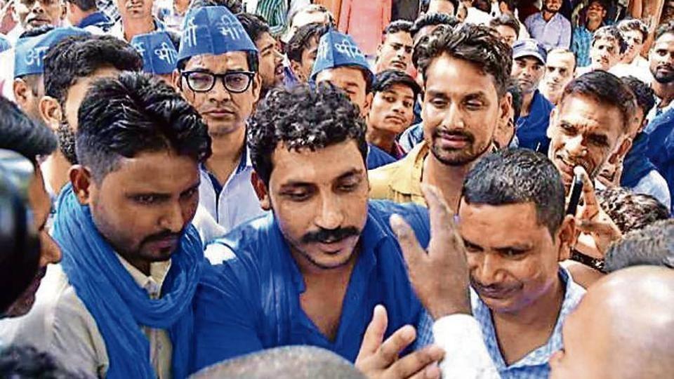 Bhim Army,Chandrashekhar,Dalit movement