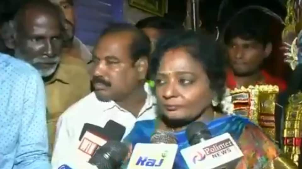 An auto rickshaw driver was allegedly beaten up for asking Tamil Nadu BJP chief Tamilisai Soundararajan about fuel price hike.