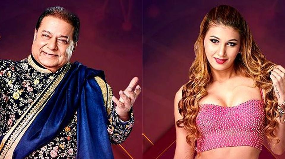 Bigg Boss 12: Anup Jalota and girlfriend, singer Jasleen Matharu, revealed their relationship on Salman Khan's show. (Twitter)
