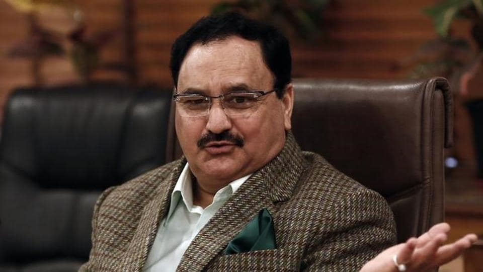 Health Minister J.P. Nadda speaks to the media at his office in New Delhi January 14, 2015. REUTERS/Adnan Abidi/Files