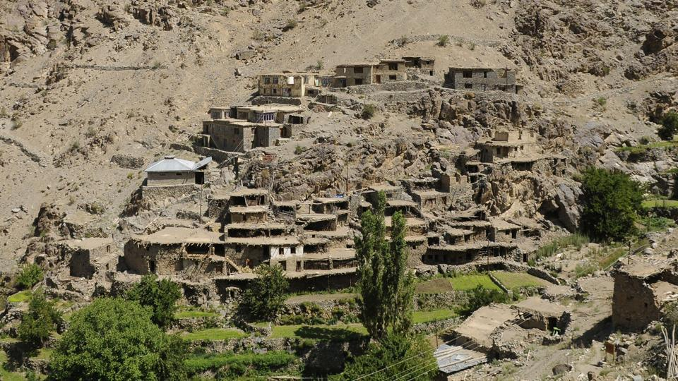 Despite being an important cultural and trade contact point, Kargil has no state-run museum to showcase the town's rich past. With the help of the Munshi family, Hunderman village (pictured) now has its own museum --the Museum of Memories which is managed by a few local families. The museum captures the difficult life story of a border population whose lives have been shaped by military events. (Waseem Andrabi / HT Photo)