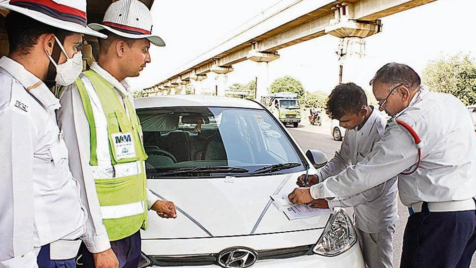 According to data from the traffic police, as many as 8.6 lakh fines were issued until August 31.