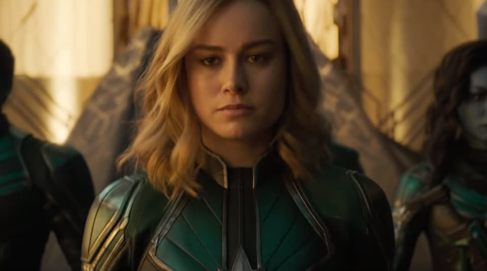 'Captain Marvel' trailer: Bear witness to Brie Larson's superhero powers