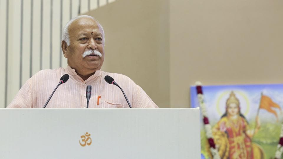 RSS chief Mohan Bhagwat said it is a crime to take law in one's hands and there should be stringent punishment in such cases.