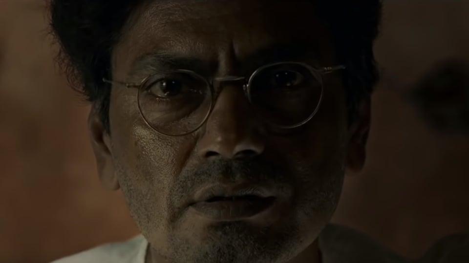 Manto movie review: Nawazuddin Siddiqui as Saadat Hasan Manto.