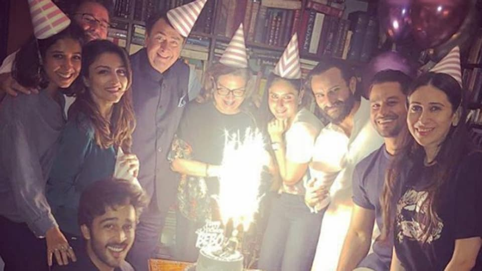 Where Is Taimur? Inside Pictures From Kareena Kapoor Khans Midnight Birthday Celebration!