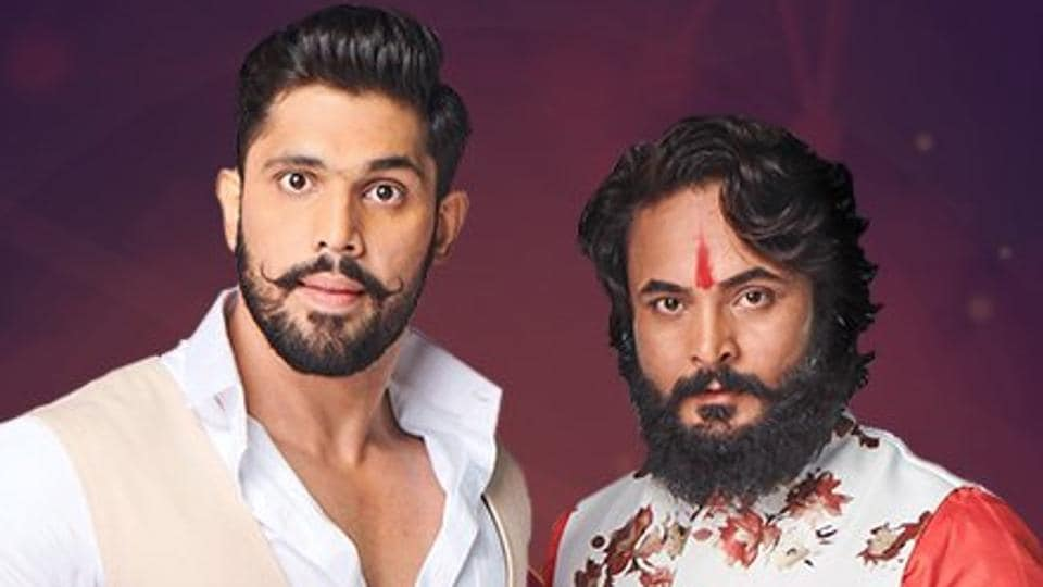 Sourabh Patel (right) entered the Bigg Boss 12 house claiming to be a farmer.