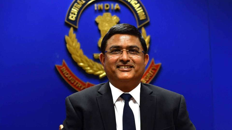 CBI special director Rakesh Asthana (pictured) had approached the government with a note saying the agency's director Alok Verma was interfering in probes undertaken by him.