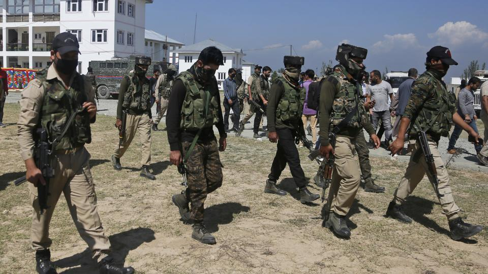 The encounter took place at Sumblar area in north Kashmir's Bandipora district.