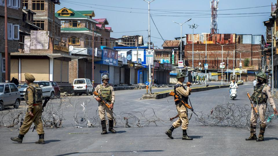 Three Special Police Officers (SPOs) and a brother of a  policeman have been kidnapped in South Kashmir's Shopian, police sources said.