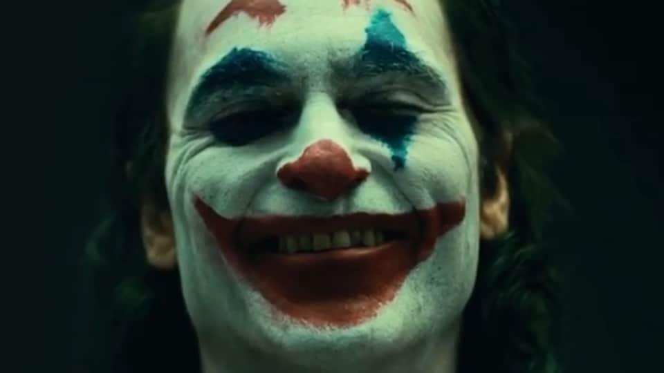 Three-time Oscar nominee, Joaquin Phoenix, as The Joker.