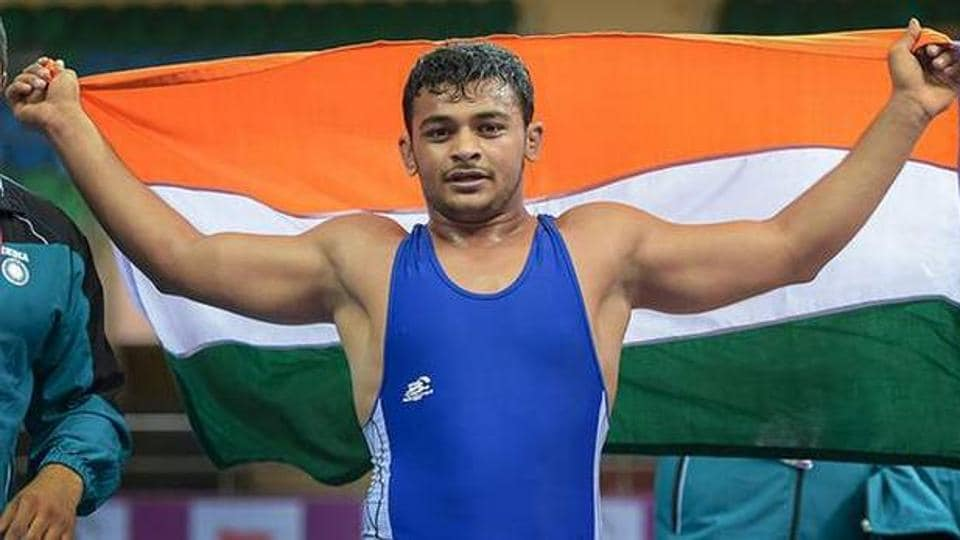 Deepak Punia,world championship,wrestling