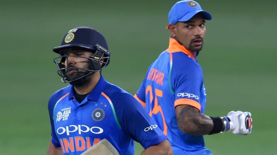 Image result for shikhar dhawan and rohit sharma