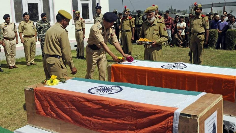 Jammu and Kashmir,Cops in Jammu and Kashmir,J-K cops killed in