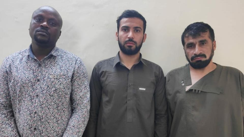 Nigerian, 2 Afghan men held with heroin worth Rs 25 crore