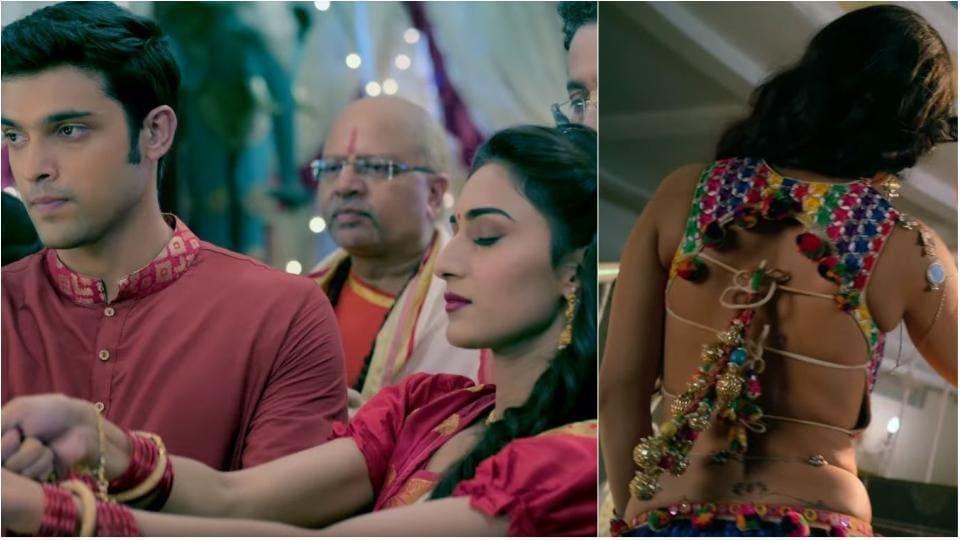 Parth Samthaan and Erica Fernandez play the new Anurag and Prerna on Kasautii Zindagii Kay 2.