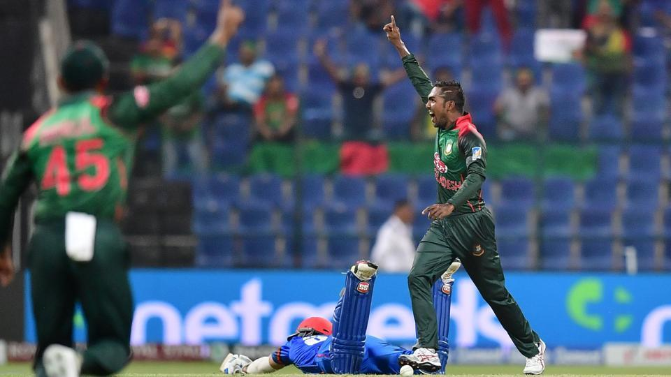 Bangladesh beat Afghanistan by three runs.  (AFP)