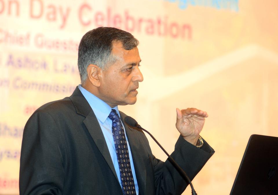 Election Commissioner of India Ashok Lavasa.