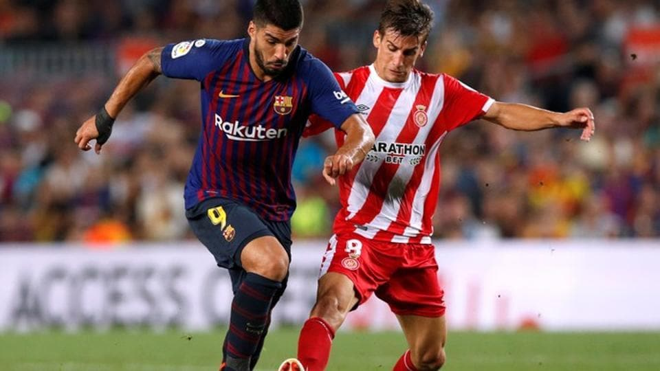 Barcelona and Girona played out a 2-2 draw on Sunday.