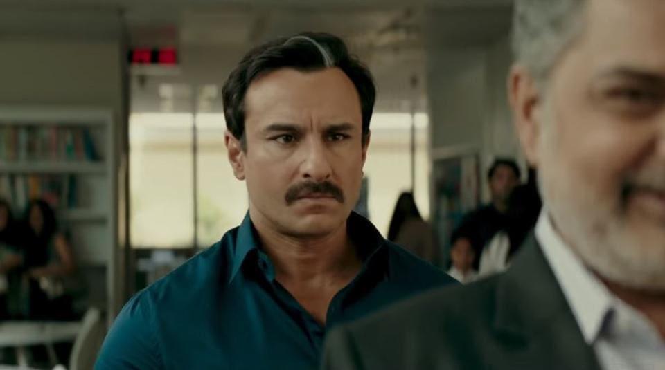 Saif Ali Khan plays a stock market mogul in Bazaar.