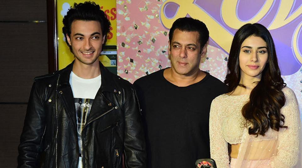 Salman Khan,Warina Hussain,Loveyatri