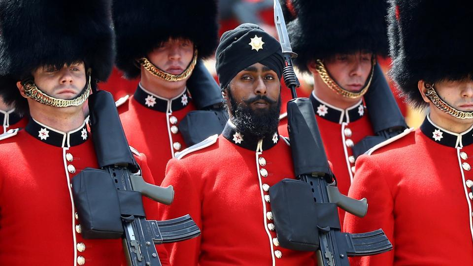 Charanpreet Singh Lall,UK army,Coldstream Guards