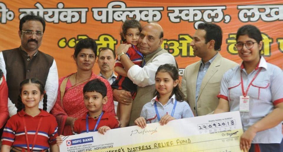 Indian value system,Rajnath Singh,GD Goenka Public School