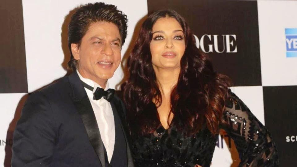 Shah Rukh Khan and Aishwarya Rai have featured on a new list of influential Asians. (IANSFile Photo)