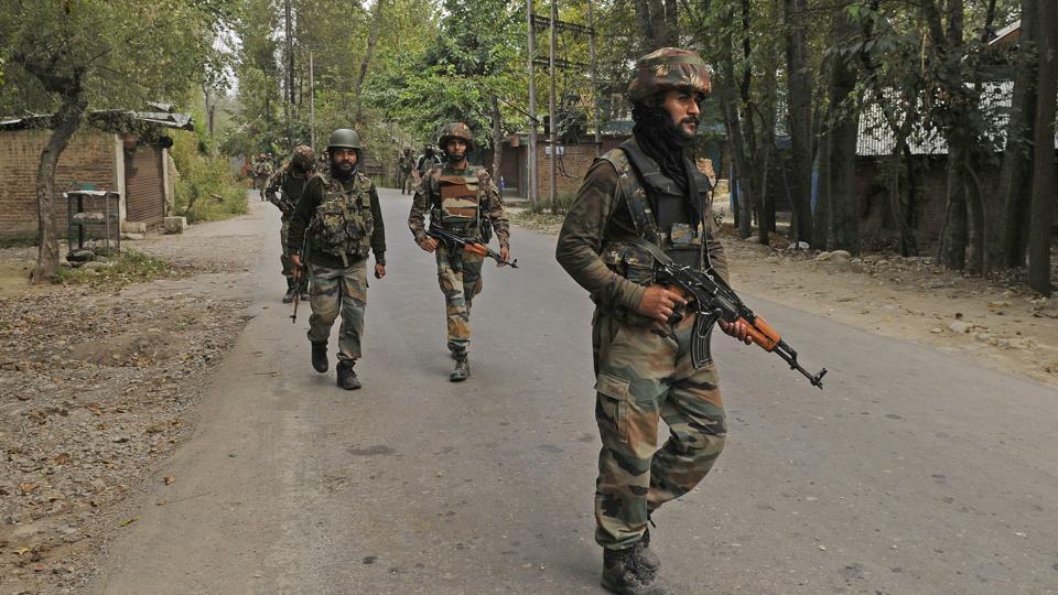 militant,Kashmir,encounter