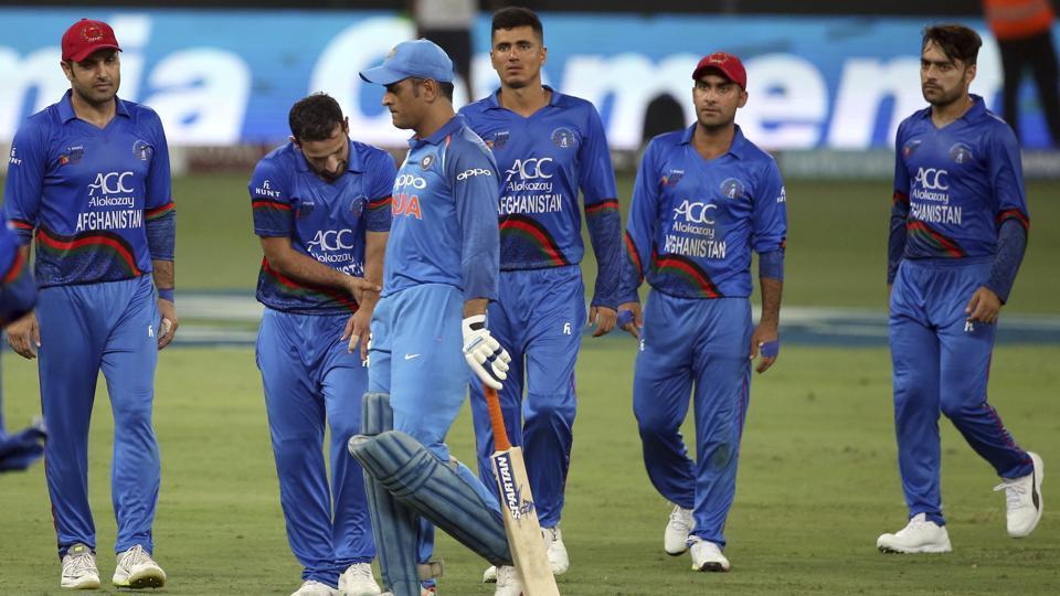 india vs afghanistan,afghanistan vs india tie,india
