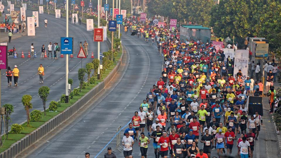 Mumbai Marathon,Mumbai