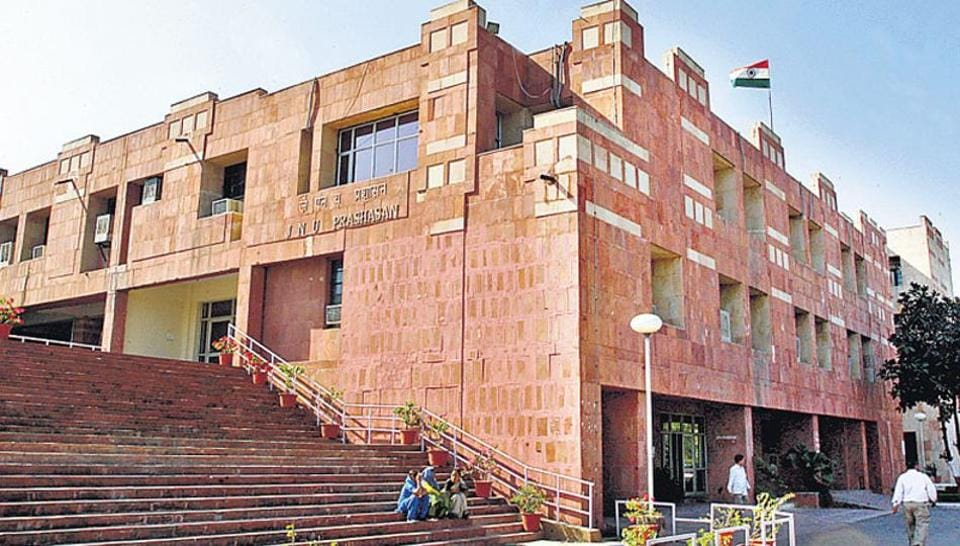 The students of JNU have been alleging rampant door-to-door checks at their hostels by the authority in the aftermath of allegations of violence before and after the student union elections.